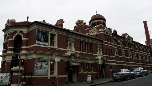 The Melbourne City Baths Exterior