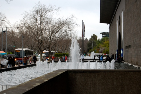 National Gallery of Victoria Water Fountain