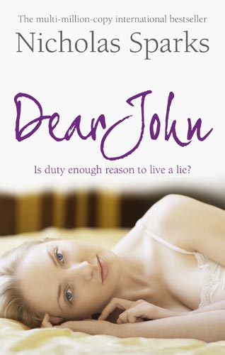 Dear John Book Cover