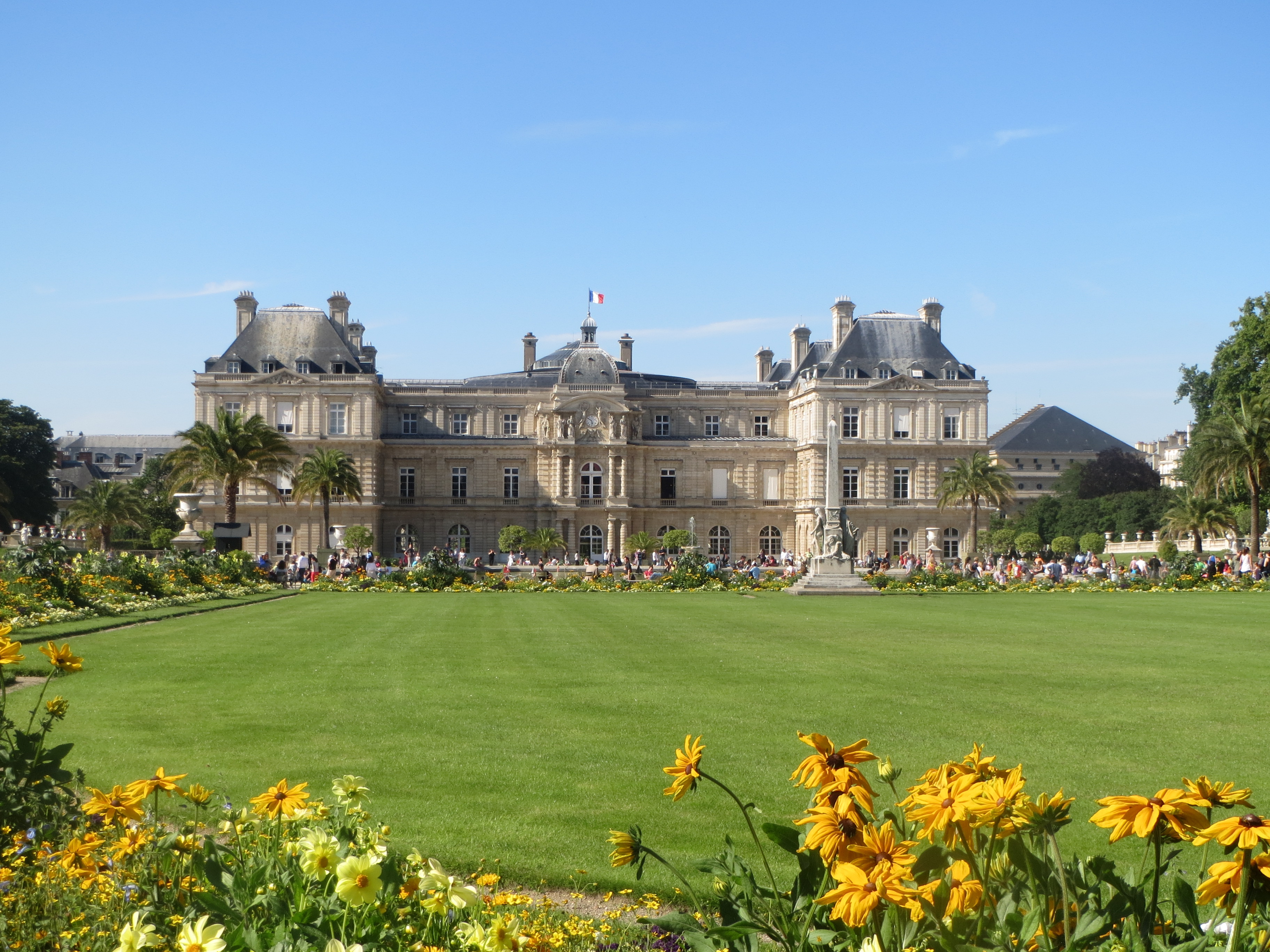 Jardin du luxembourg between you and me for Jardin luxemburgo